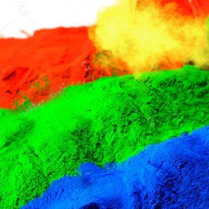 Práškové farby